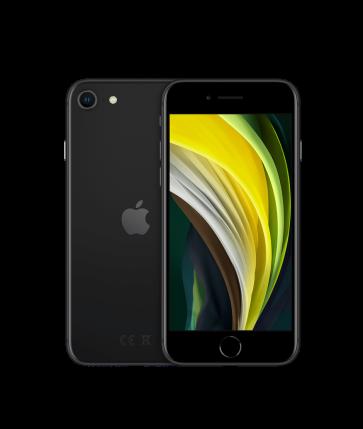 iPhone SE i svart